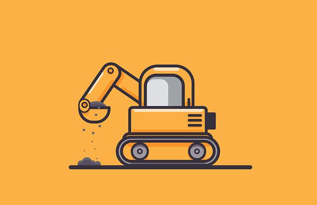 types of excavators