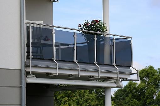 aluminium glass railing systems