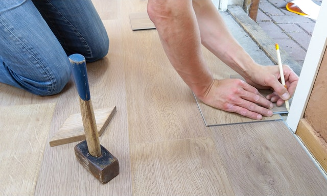 damaged floors replacement