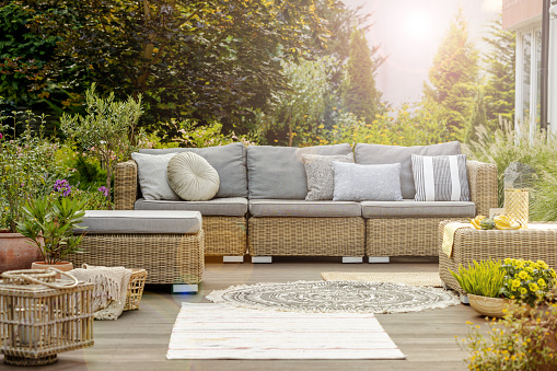 water resistant outdoor cushions