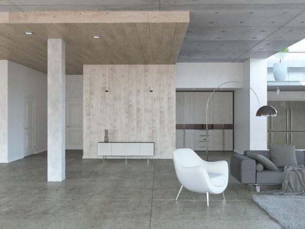 heated polished concrete