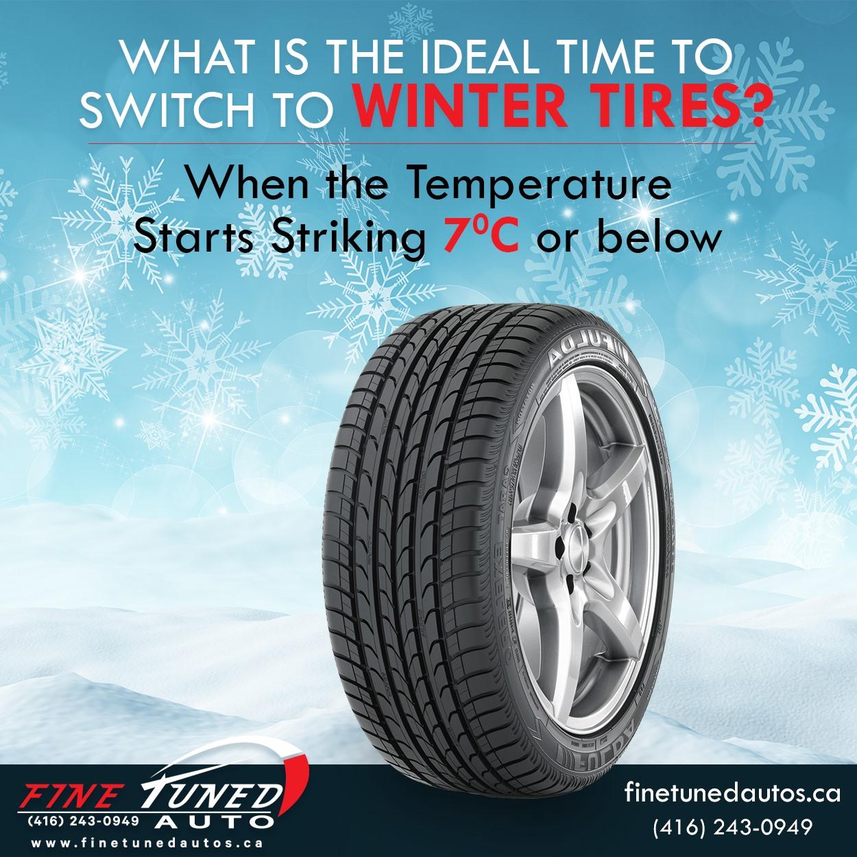 installing winter tires