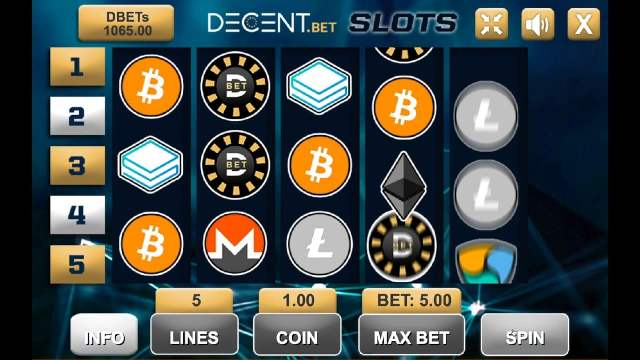 crypto casino slots