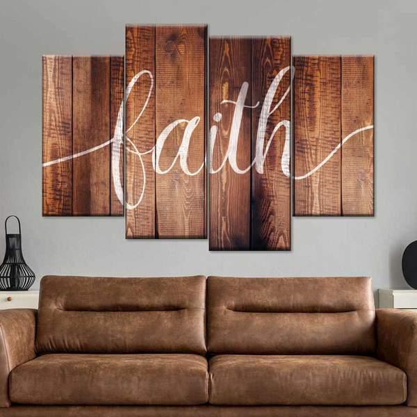 faith canvas wall