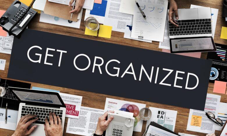 organization gadgets