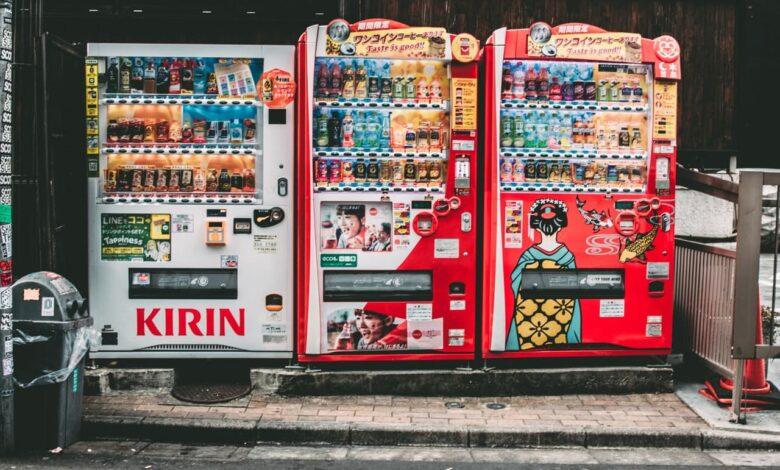 full service vending machines